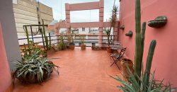 Ático calle Ruzafa con parking y terraza