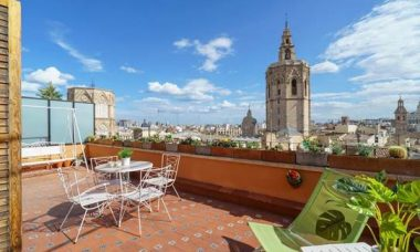 Penthouse to rent in Plaza Virgen
